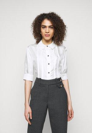 ROMA - Button-down blouse - white