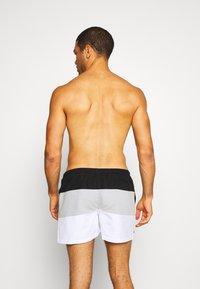 Ellesse - CIELO - Swimming shorts - black/grey/white - 1