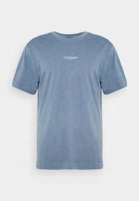 G-Star - REFLECTIVE LOGO LOOSE OD R T S\S - T-shirt med print - blue - 3