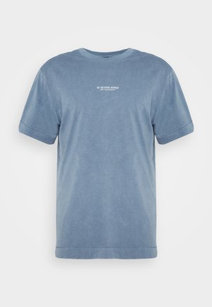REFLECTIVE LOGO LOOSE OD R T S\S - T-shirt med print - blue