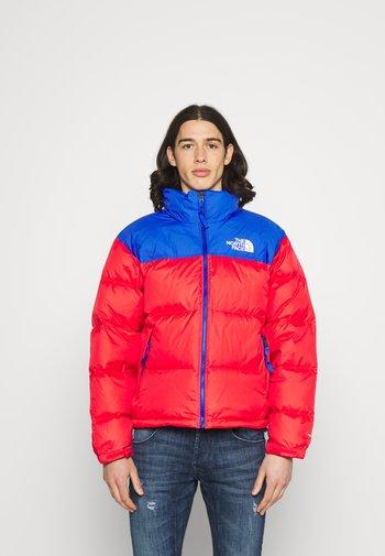 1996 RETRO NUPTSE JACKET UNISEX - Down jacket - horizon red/blue