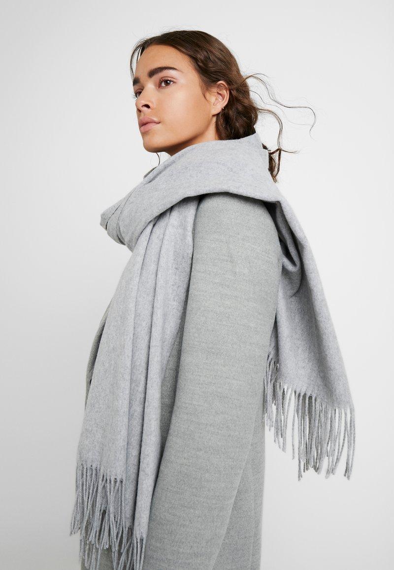 Vero Moda - Écharpe - light grey melange