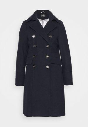 LONGLINE REVERE COAT - Wollmantel/klassischer Mantel - navy