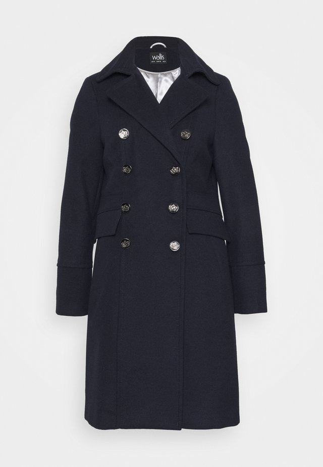 LONGLINE REVERE COAT - Classic coat - navy