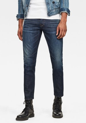 D-STAQ 5-PKT SLIM - Slim fit jeans - worn in deep forest