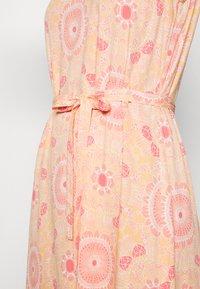 Mos Mosh - MERRIN VISSA DRESS - Maxi dress - pink - 4