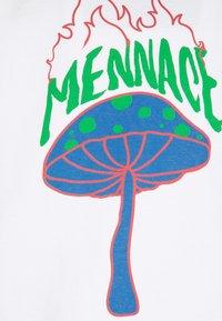Mennace - UNISEX SHROOM PRINT SWEATSHIRT - Sweatshirt - white - 2