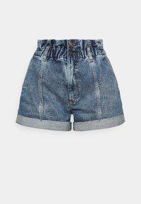 Abercrombie & Fitch - Denim shorts - stone-blue denim - 4
