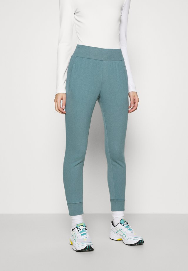 Tracksuit bottoms - turquoise