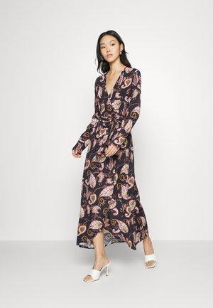 MAYA  WRAP DRESS - Maxi dress - black