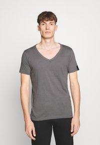 Replay - T-shirt basic - mouse grey - 0