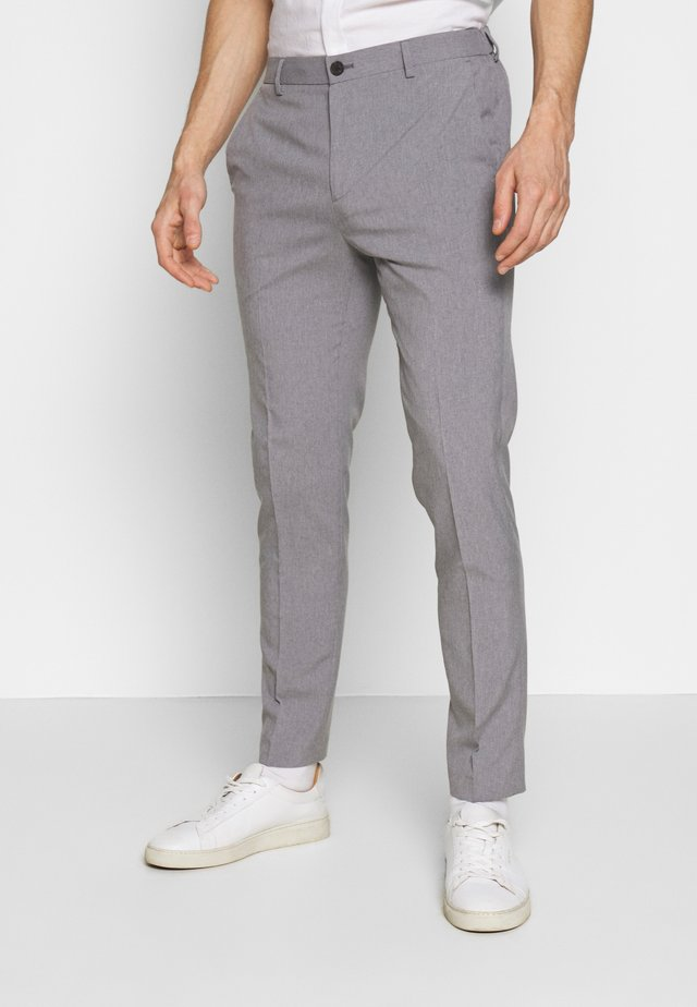 LIGHTWEIGHT WASHABLE TROUSER - Chino - light grey/silver