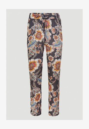Trousers - black with red