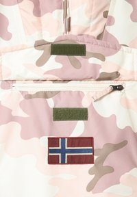 Napapijri - RAINFOREST PRINT CAMO - Winter jacket - camou pink - 3