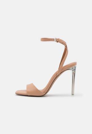 CALISTA - Sandals - dark beige