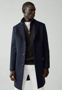 Mango - MICHIGAN-I - Classic coat - bleu - 0