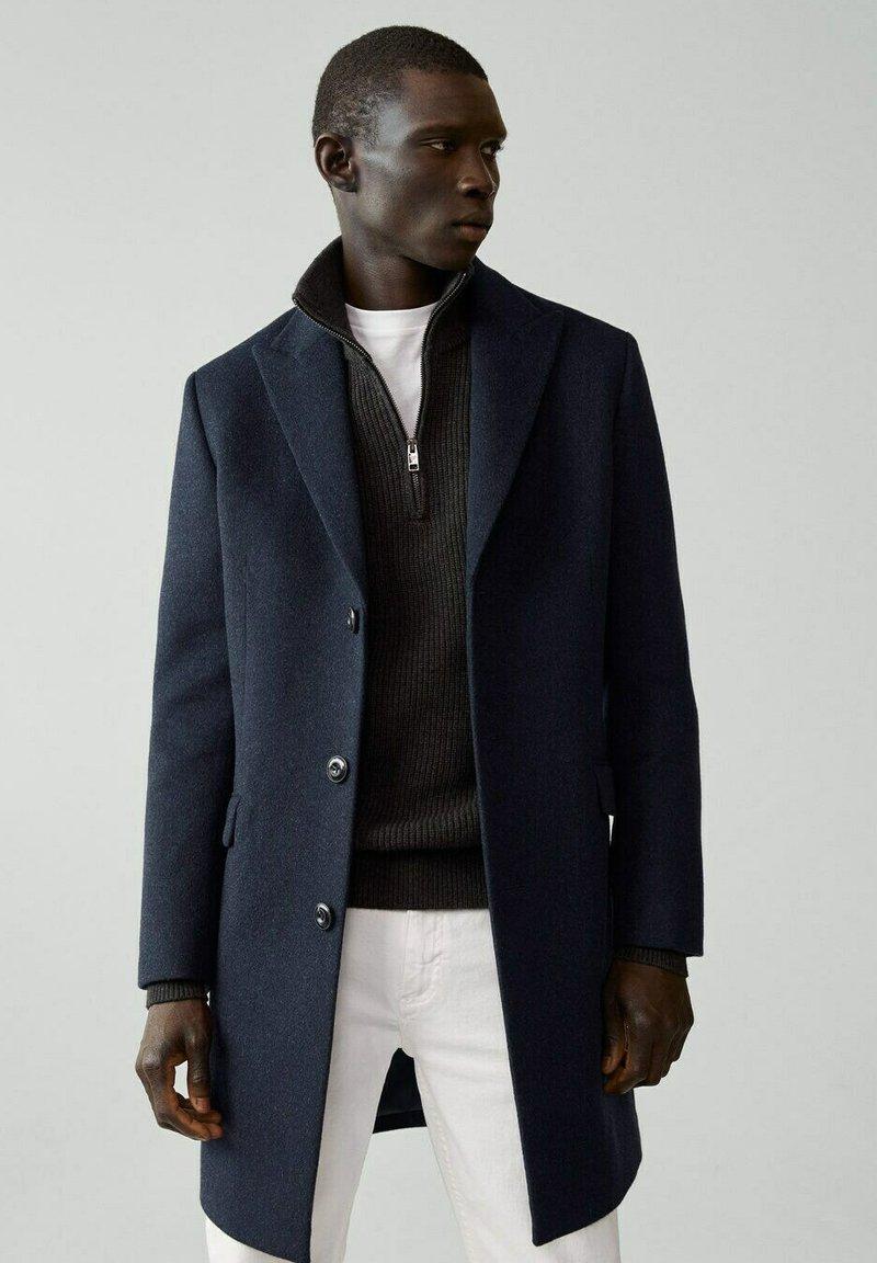 Mango - MICHIGAN-I - Classic coat - bleu