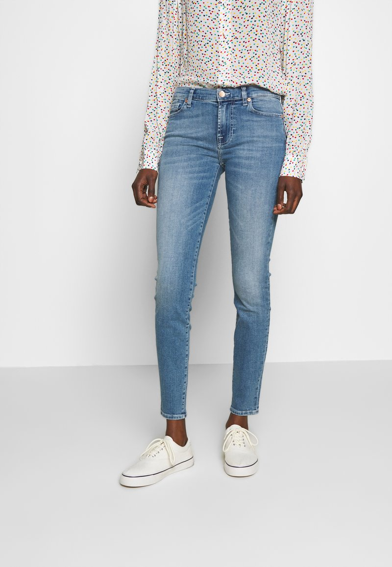 7 for all mankind - Jeans Skinny Fit - light blue