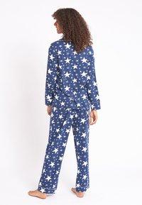 Chelsea Peers - NYC SPARKLE - Pyjama set - blue - 1