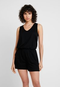 edc by Esprit - OVERALL - Jumpsuit - black - 0