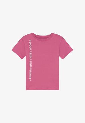 OLINKA - Triko spotiskem - pink