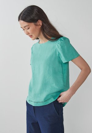 MORRIS & CO AT NEXT T-SHIRT - Blouse - light blue