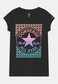 Converse - GRADIENT CHUCK PATCH  - T-shirt con stampa - black - 0
