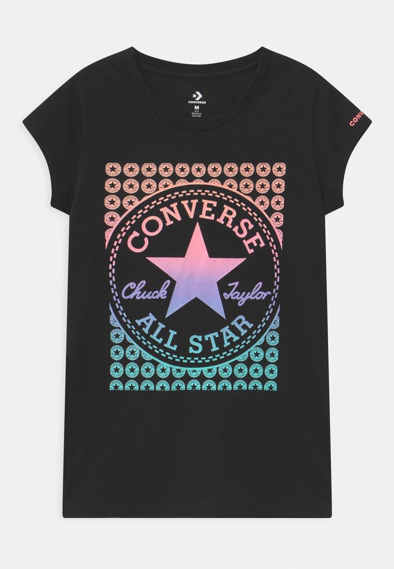 Converse - GRADIENT CHUCK PATCH  - T-shirt con stampa - black
