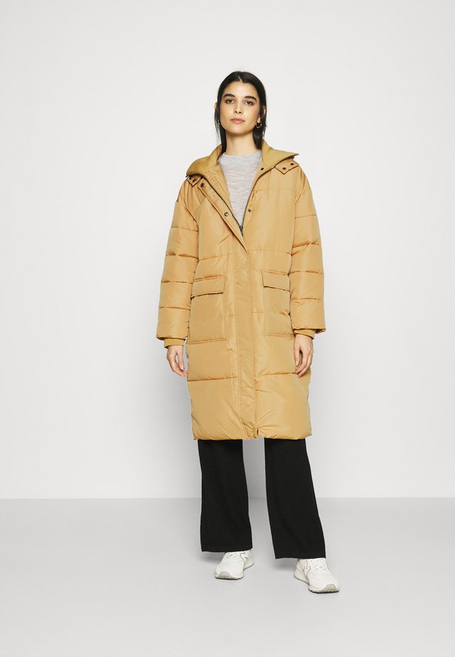 SRSIGNE PUFFER COAT - Winterjas - iced coffee