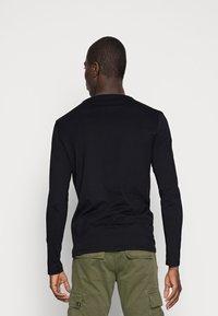 Pier One - 2 PACK - Long sleeved top - black - 2