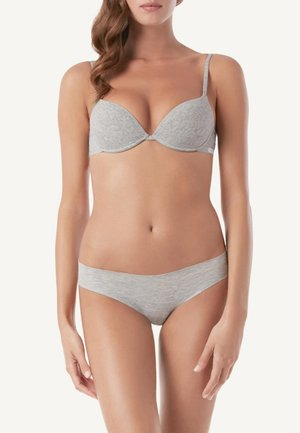 Push-up bra - grey Melange
