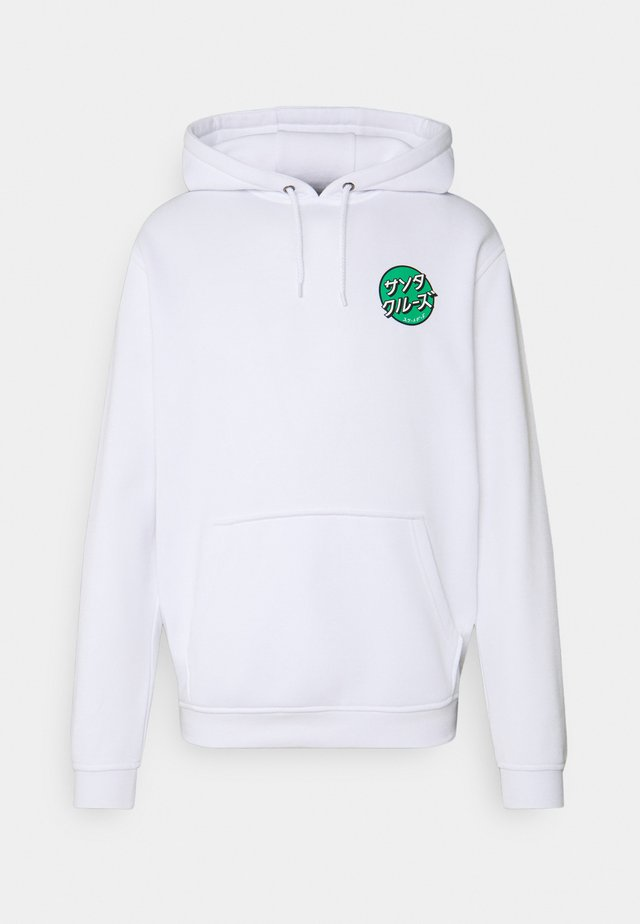 OTHER JAPANESE DOT HOODIE UNISEX - Sweatshirt - white