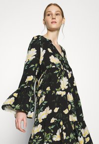 ONLY - ONLFAYE SHORT DRESS  - Shirt dress - black/cloud dance - 3