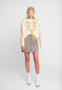 Dorothy Perkins - CHECK - A-line skirt - multi-coloured - 1