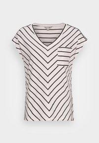comma casual identity - KURZARM - Print T-shirt - black doub - 3