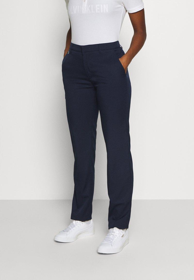 Lacoste Sport - GOLF PANT - Spodnie materiałowe - navy blue