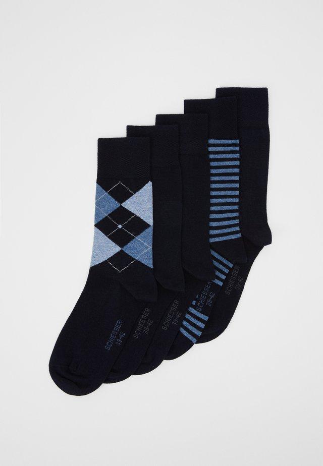 5 PACK - Socks - nachtblau