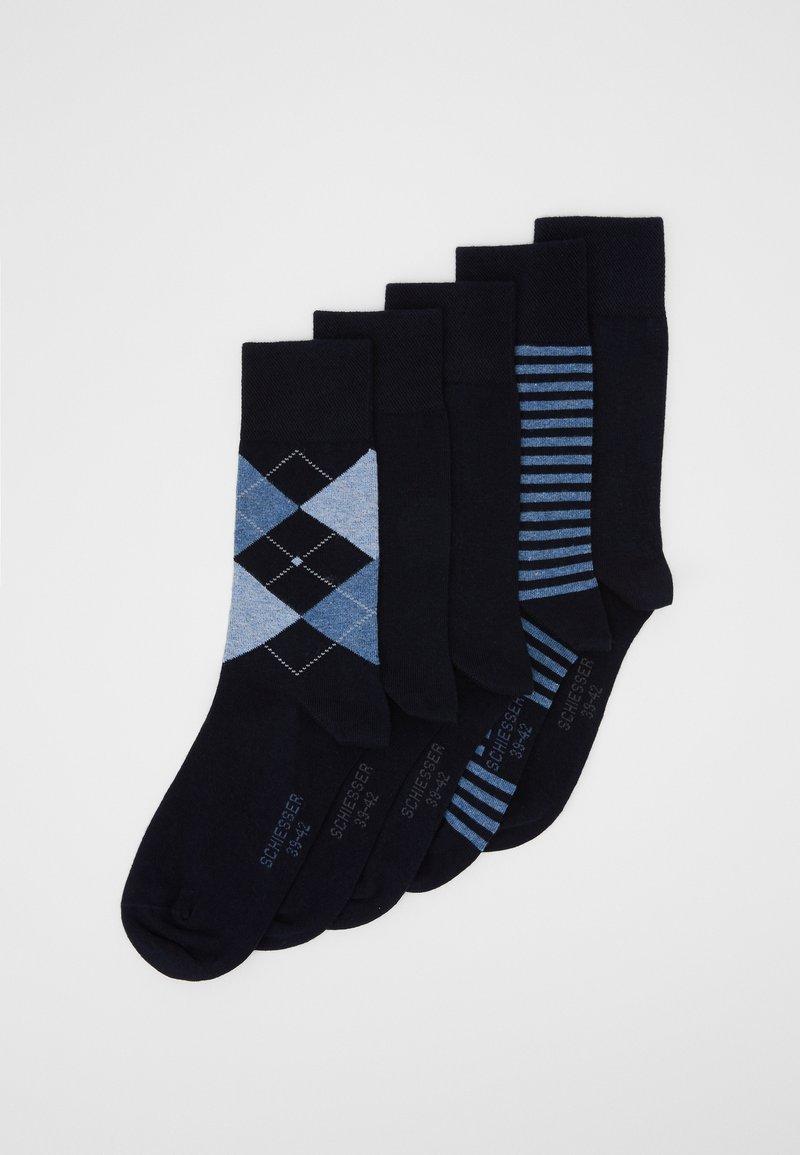 Schiesser - 5 PACK - Socks - nachtblau