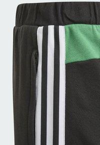 adidas Performance - COMFORT COLORBLOCK SHORTS - Sports shorts - black - 3
