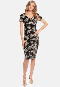 Vive Maria - Shift dress - schwarz allover - 0