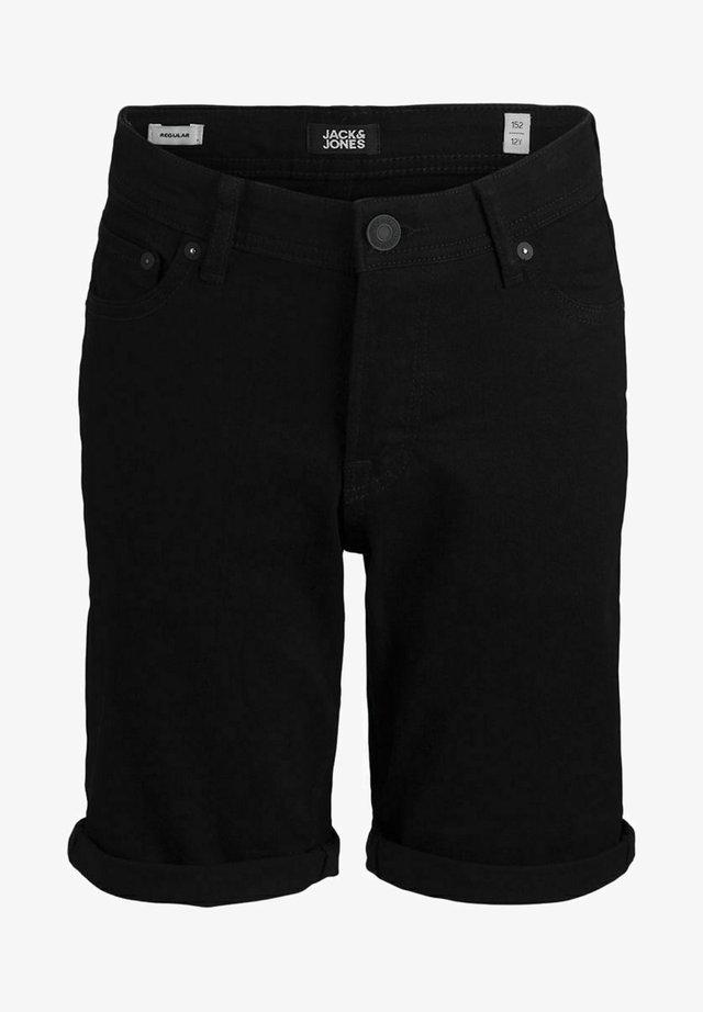 Jeansshorts - black denim