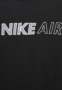 Nike Sportswear - AIR CREW  - Sweatshirt - black/white - 5