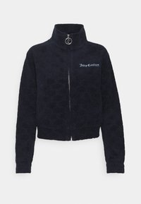 Juicy Couture - TOWEL TANYA TRACK - Zip-up sweatshirt - night sky - 7