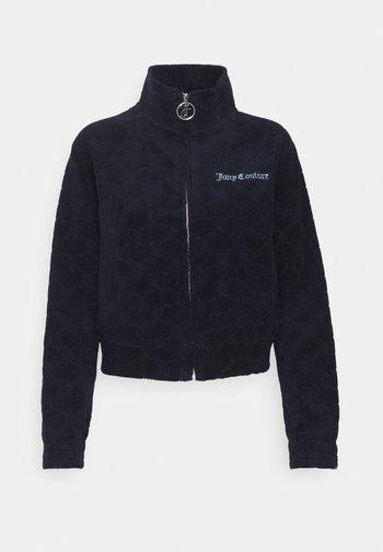 TOWEL TANYA TRACK - Zip-up sweatshirt - night sky