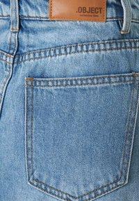 Object - OBJGLORIA SKIRT  - Jeansnederdel/ cowboy nederdele - light blue denim - 2