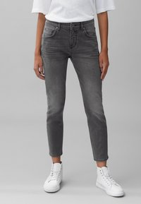 Marc O'Polo - THEDA - Relaxed fit jeans - grey effect wash - 0