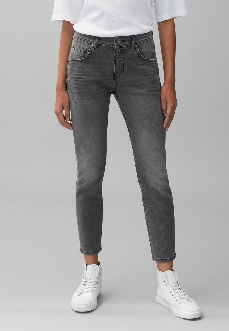 Marc O'Polo - THEDA - Relaxed fit jeans - grey effect wash