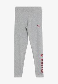 Puma - ALPHA - Leggings - Trousers - light gray heather - 3