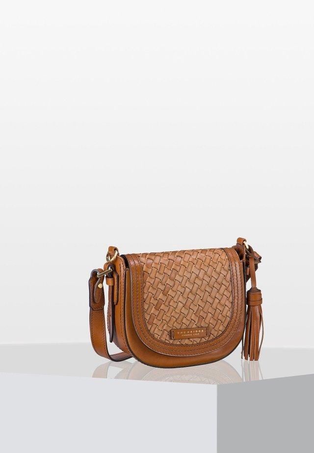 SALINGER - Across body bag - cognac