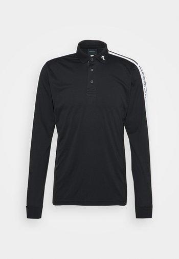 PLAYER  - Polo shirt - black/white